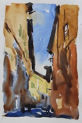 Sienna Street Original by Owen Hunt
