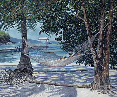 Relax Painting - Siesta Time by Danielle  Perry