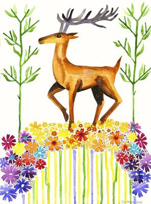 Signs Of Spring Print by Cat Athena Louise