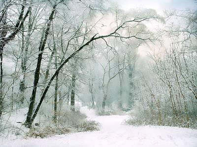 Silence Of Winter Print by Jessica Jenney