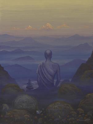 Silence Print by Vrindavan Das