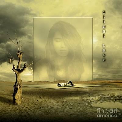 Eyes Mixed Media - Silent Love by Franziskus Pfleghart