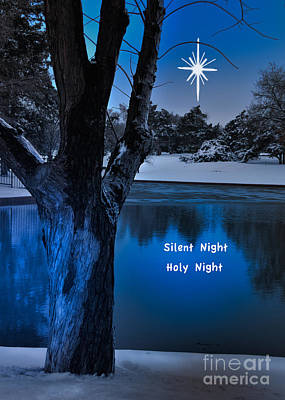 Silent Night Print by Betty LaRue