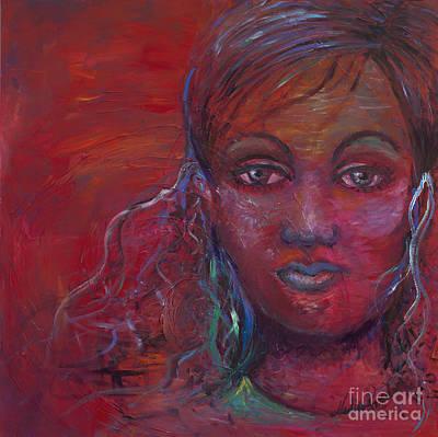Silent Suffering Original by Nadine Rippelmeyer