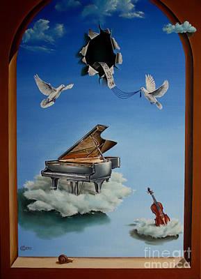 Silent Symphony Print by Svetoslav Stoyanov