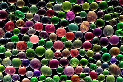 Gel Photograph - Silica Gel Beads by Antonio Romero