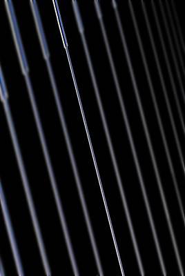 Fiber Glass Photograph - Silica Nano-wire Research by Science Photo Library