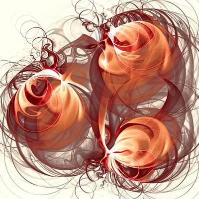 Silks Mixed Media - Silk Labyrinth by Anastasiya Malakhova