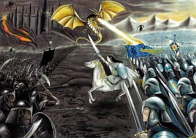 Epic Drawing - Silmarillion by Ilias Patrinos