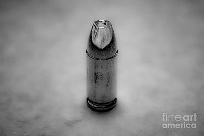 Bullet Photograph - Silver Bullet-2 by Pittsburgh Photo Company