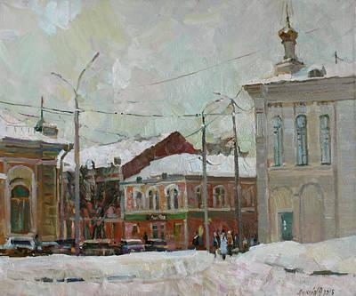Silver Day Original by Juliya Zhukova