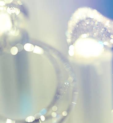 Earrings Photograph - Silver Fantasy by Jenny Rainbow