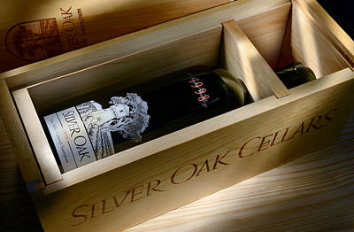 Winery Photograph - Silver Oak  by Jon Neidert