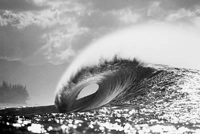 Ocean Photograph - Silver Peak by Sean Davey