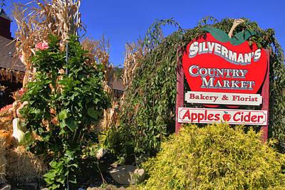 Apples Photograph - Silverman's Country Farm by Joann Vitali