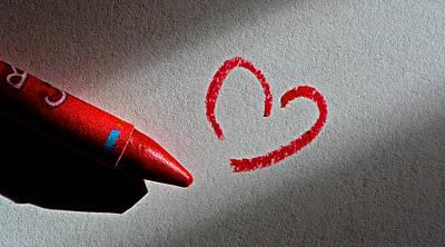 Simple Love Print by Bill Owen