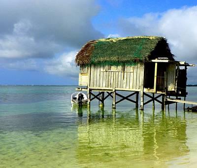 Belize Photograph - Simple Solitude by Karen Wiles