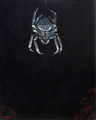 Simply Spider Print by Cara Bevan