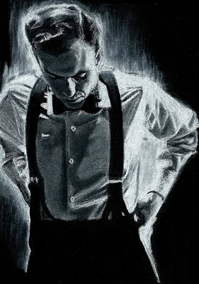 Frank Sinatra Drawing - Sinatra by Teresa Beveridge