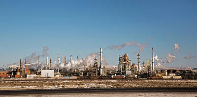 Sinclair Oil Refinery Print by Jim West