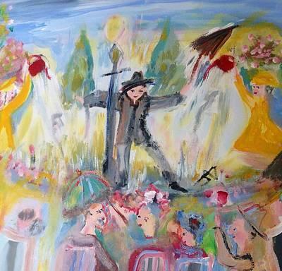 Sing Along In The Rain Original by Judith Desrosiers