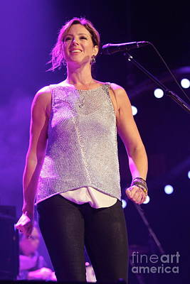 Photograph - Singer Sarah Mclachlan by Concert Photos