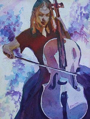 Singing The Cello Original by Jenny Armitage
