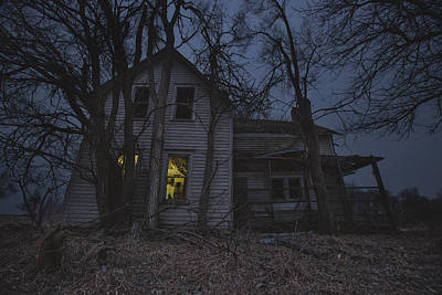Abandoned Houses Photograph - Sinister by Aaron J Groen