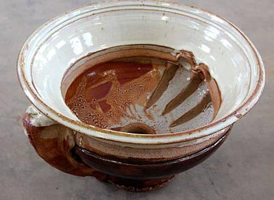 Large Ceramic Sinks Ceramic Art - Sink Series 0033 by Richard Sean Manning