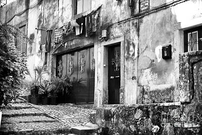 Old Home Place Photograph - Sintra by John Rizzuto