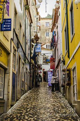 Sintra Street Print by Deborah Smolinske