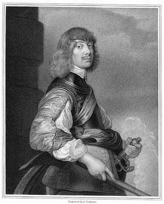 Northumberland Painting - Sir Algernon Percy (1602-1668) by Granger
