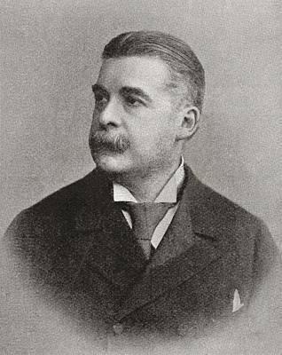 Gilbert Photograph - Sir Arthur Seymour Sullivan by Bridgeman Images