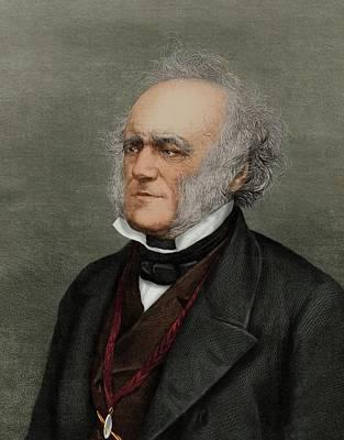 Sir Charles Lyell Print by Maria Platt-evans