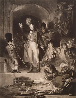 East India Photograph - Sir David Baird Discovering The Body Of Tipu Sultan, 1843 Mezzotint by Sir David Wilkie