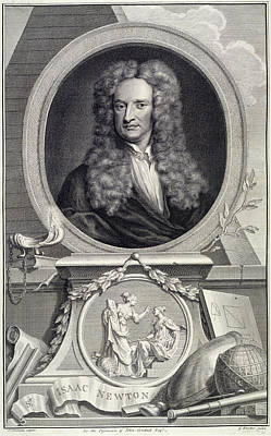18th Century Photograph - Sir Isaac Newton by British Library