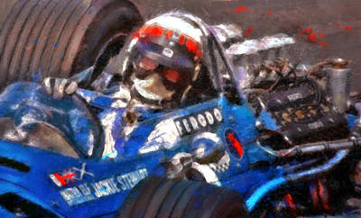 Open Mixed Media - Sir Jackie by Alan Greene