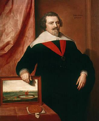 Badge Painting - Sir John Backhouse (1582-1649) by Granger