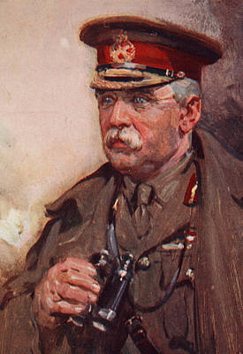 Ww1 Drawing - Sir John French by Cyrus Cuneo