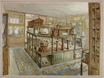 Sir John Soane's Museum Print by British Library