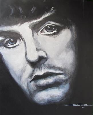 Paul Mccartney Drawing - Sir Paul Mccartney by Eric Dee