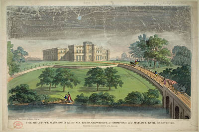 Sir Richard Arkwright's Mansion Print by British Library