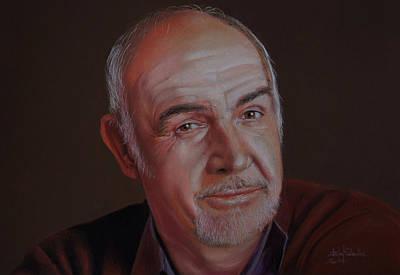 Sir Sean Connery Original by Isabel Salvador