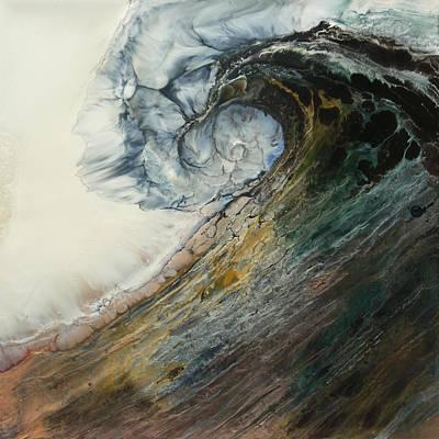 Mermaid Mixed Media - Siren Song Sold by Lia Melia