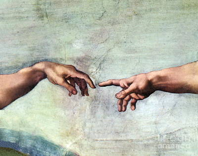 Sistine Chapel Print by SPL and Photo Researchers