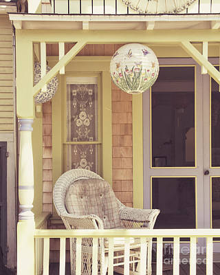 Paper Lantern Photograph - Sit And Relax by Jillian Audrey Photography