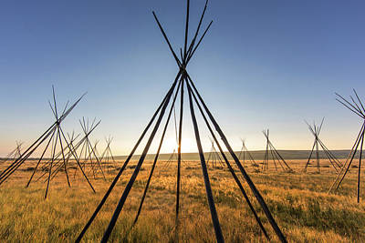 Battlefield Site Photograph - Site Of Chief Joseph Of The Nez Perce by Chuck Haney