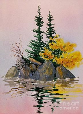 Sitka Painting - Sitka Isle by Teresa Ascone