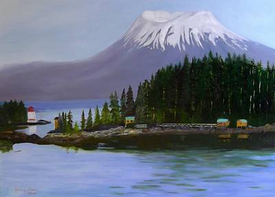 Sitka Painting - Sitka Morning by Sally Jones