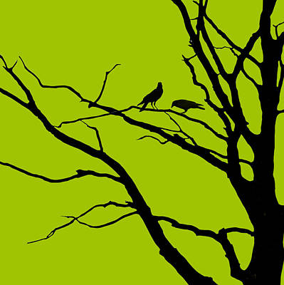 Lime Digital Art - Sitting Around Prt 1 by Lourry Legarde